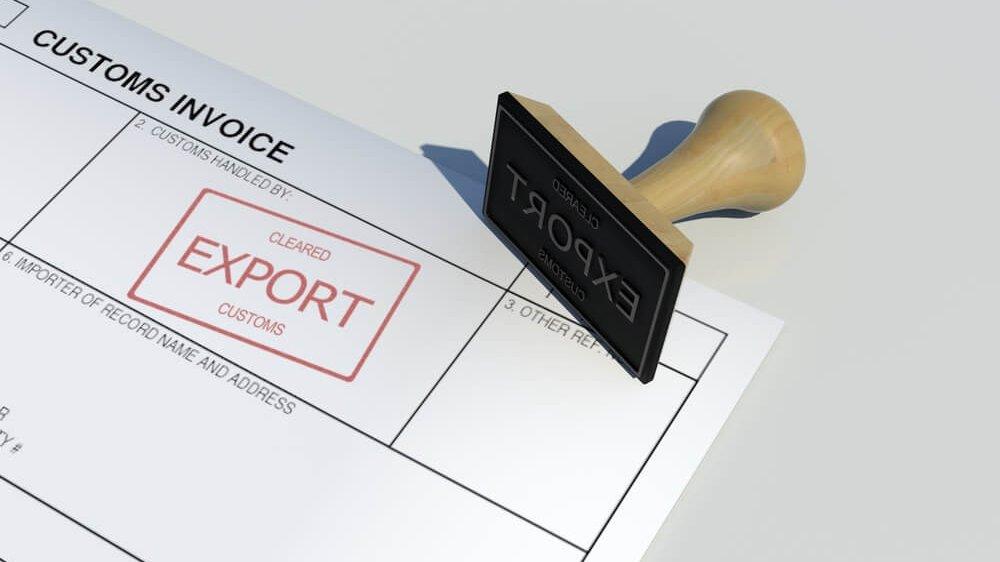 податкова накладна export